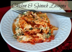 The Unsophisticated Kitchen: Chicken & Spinach Lasagna