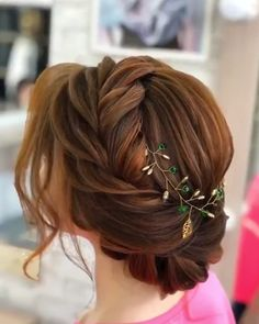 wedding hair videos Gorgeous hair styles for girls. Braided Hairstyles For Wedding, Bride Hairstyles, Hairstyle Ideas, Engagement Hairstyles, Summer Wedding Hairstyles, Long Hairstyles For Girls, Long Updo Hairstyles, Short Hairdos For Wedding, Grecian Hairstyles