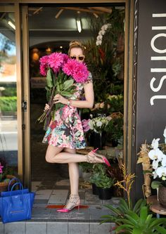 flower shopping...