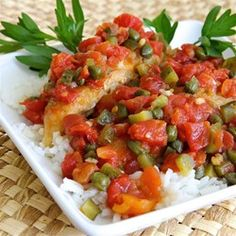 """Quick and Easy Chicken Piquant 