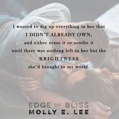 #MustRead #CoverReveal #LoveontheEdge Edge of Bliss by Molly E. Lee