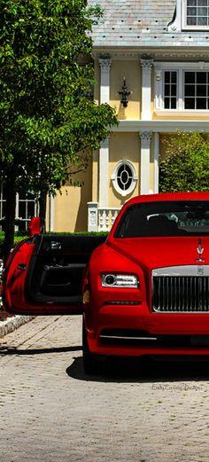 LADY LUXURY - Rolls-Royce-Wraith-St-James-Red @LadyLuxury7