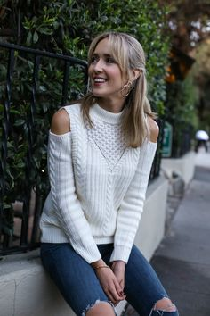 Cold-Shoulder Sweaters | MEMORANDUM | NYC Fashion & Lifestyle Blog for the Working Girl