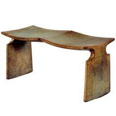 American Studio Craft Artist, David N Ebner's Bronze MFA Bench.