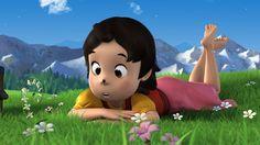 HEIDI PILOTE - 2011. DIGITAL BANANA'S WORK ON HEIDI PILOTE ©Studio 100 animation