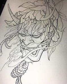 Japanese Tattoos Hannya Ink – tattoos for women half sleeve Oni Tattoo, Irezumi Tattoos, Hannya Maske Tattoo, Samurai Tattoo, Oni Samurai, Japanese Mask Tattoo, Japanese Tattoo Women, Japanese Tattoo Symbols, Japanese Tattoo Designs