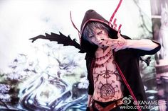 Kaname as Sorcerer's Army Commander-Velnar From Chain Chronicles -comparison by Ivy Tante. m(_ _)m
