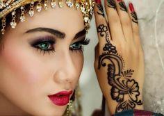 Moda 2015: maquillaje de novia estilo árabe