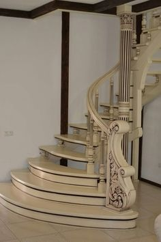Wooden Staircase Railing, Spiral Staircase, Staircase Design, Stairs, Lcd Wall Design, Best Vpn, Decorating Tips, Interior Design, Architecture