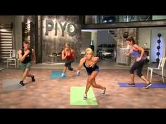 ▶ PiYo Chalene Johnson New Workout- Official Trailer - YouTube -- I am sooo excited for this to come out on DVD! PiYo is probably my favorite workout format. I love the stretching you get along with all the crazy strength moves.