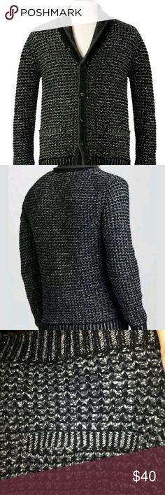 Men's Rag & Bone Wool Sweater Cardigan Large L New Neiman Marcus/Target collaboration. New without tags. Extra buttons attached and included. Size Large. Medium knit. Very nice cardigan.   With classic, rustic construction and a signature contemporary edge, this rag & bone cardigan sweater is the perfect cold-weather staple.Three-gauge heather combo knit.Contrast shawl collar with tipping; button front.Long sleeves with ribbed cuffs.Ribbed welt pockets.Ribbed hem.Wool/cotton rag & bone…