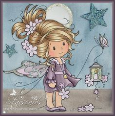 Star's Cards: Sweet Sparkle - Sylvia Zet - Wee Stamps