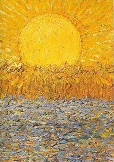 Vincent Van Gogh ~ The Sun