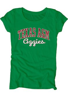 Texas A&M Aggies Womens Green St. Patrick's Day Tee http://www.rallyhouse.com/shop/texas-am-aggies-tshirt-green-aggies-dyed-scoopneck-short-sleeve-scoop-570752?utm_source=pinterest&utm_medium=social&utm_campaign=Pinterest-TexasAMAggies $32.99