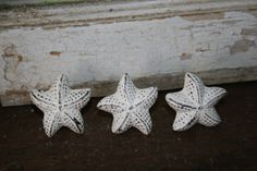 1 Drawer pull / knobs / hardware / dresser pull / cabinet pull / drawer pulls knob / starfish / whimsical knobs