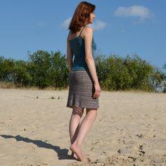 Crochet skirt PATTERN detailed TUTORIAL for por CONCEPTcreative