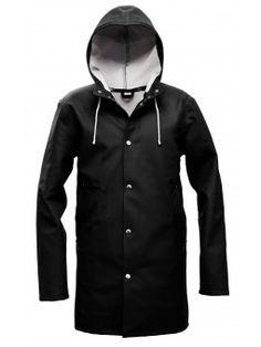 Stockholm Svart cool raincoat.... $315