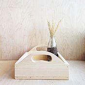 Для дома и интерьера ручной работы. Ярмарка Мастеров - ручная работа Деревянный поднос. Handmade.