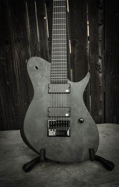 Black Electric Guitar, Guitar Photos, Czech Republic, Music Instruments, Ukulele, Bass, Guitar Design, Porn, Handmade