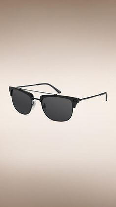 c4cd3e618332 Black Square Frame Sunglasses - Image 1 Black Square