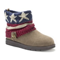 Muk Luks Women's Americana Patti Boot