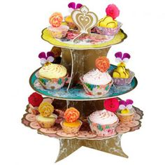 Utterly Scrumptious Tiered Cake Stand