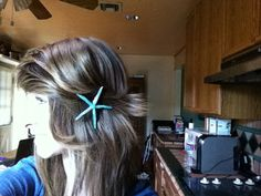 Sparkly Mini Real Starfish Mermaid Hair Accessory by AmandasGrotto, $4.99