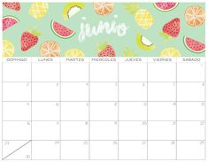 Calendario 2019 GRATIS | Imprimibles Cute Calendar, 2021 Calendar, Photo Cards, Stationery, Bullet Journal, Scrapbook, Lettering, Crafts, Planners
