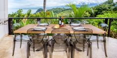 Located in an exclusive area inside Tulemar, Casa del Mar is a luxurious, 2 story, 2 bedroom retreat nestled into the jungle hillside. Vacation Resorts, Vacation Rentals, Bedroom Retreat, Outdoor Furniture Sets, Outdoor Decor, Costa Rica, Places To Visit, World, Travel