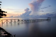 Scene of Tranquility: Kg Batu Payung jetty at dawn