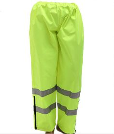 37.05$  Buy now - http://alis80.shopchina.info/go.php?t=2036254259 - Reflective safety rain pants waterproof rain trousers working traffic clothes protective clothes C2134 free shipping 37.05$ #buyonlinewebsite