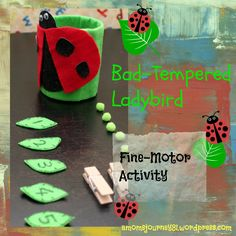 the bad tempered ladybird activities - Google Search