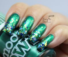 Bejewelled Gradient Nails with Models Own http://www.lucysstash.com/2014/11/bejewelled-gradient-nails-with-models-own.html