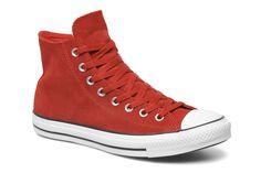 Chuck Taylor All Star Suede Hi M Converse (Rouge) : livraison gratuite de vos Baskets Chuck Taylor All Star Suede Hi M Converse chez Sarenza...