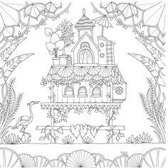 """[Trial] Фигура хорошая фантазия джунгли ( """"The Secret Garden"""" Эпизод IV, автор Signature Edition) - Кингстоун книжный интернет-магазин"""