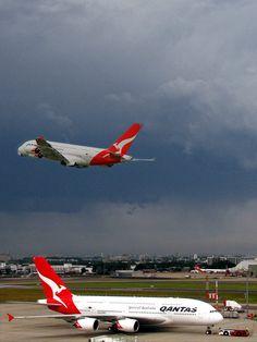 Qantas A380-800 Aircraft