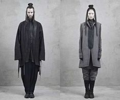 Kung-Fu Master Collections - The InAisce Fall/Winter 2012 Lookbook is Dramatically Draped (GALLERY)