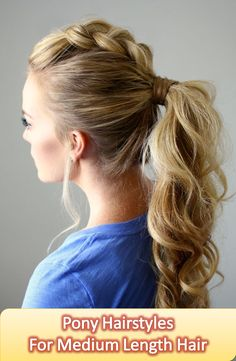 Will you be surprised if you see some hairstyle very popular today but tomorrow it is just out of ark? Will you? I guess you will not, because you know already how hairstyle changes season to season. Read this article you will get here 20 pony hairstyles. Discover more: Pony Hairstyles for long, Pony Hairstyles high, Pony Hairstyles wedding, Pony Hairstyles for prom