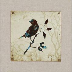4 Piece Birds Wall Art Set