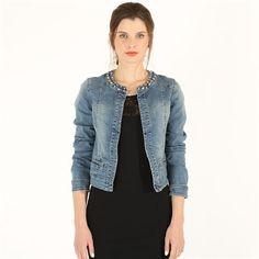 Pimkie.it : Impossibile resistere alla versione bling-chic della giacca in jeans.