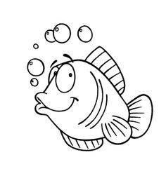 Free Fish Digi Stamp #freebie #digi #stamp More freebie digi stamps available at: Starry Nights Studio Blog