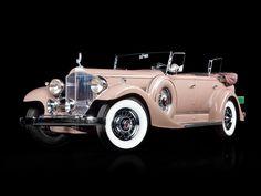 1933 Packard Super Eight Sport Phaeton Dietrich - Autos 2019 Cadillac, Deco Cars, Vintage Cars, Antique Cars, Classy Cars, Classic Motors, Cabriolet, Collector Cars, Classic Trucks