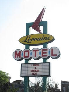 colored section — soulbrotherv2:   The Lorraine Motel, Memphis Tennessee. Scene of Martin Luther King, Jr.'s assassination.