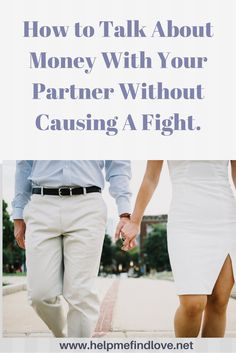 How to Talk Money with your Partner Without Causing A Fight. 5 Important Steps -Click Link for Details: