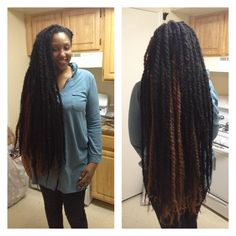 Super long marley twists I did on my clients hair!  Servicing the dmv area. For inquiries email thefitnessjunkie23@gmail.com