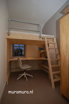 "Discover additional relevant information on ""bunk bed designs boys"". Room Design Bedroom, Home Room Design, Girl Bedroom Designs, Room Ideas Bedroom, Small Room Bedroom, Loft Beds For Small Rooms, Cool Loft Beds, Loft Bunk Beds, Loft Bed Plans"
