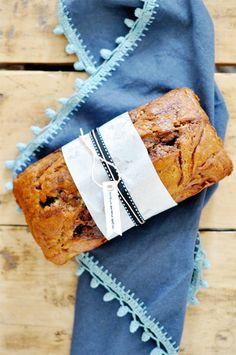 Nutella banana bread #recipe