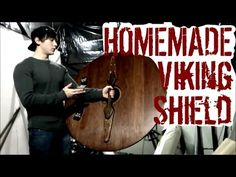 How to Make a Viking Round Shield (No Metal Working Required!) Seriously badass!