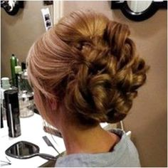 Wedding/Prom updo with crown bump bang salon & day spa Fancy Hairstyles, Wedding Hairstyles, Wedding Hair And Makeup, Hair Makeup, Hair Wedding, Prom Hair Updo, Party Hairstyle, Bridal Hairstyle, Hairstyle Ideas