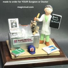 Female Veterinarian Figurine, Veterinary Graduation Gift, Personalized Veterinarian Statue, Gift for a Veterinary, Veterinarian's Present Christmas Gift For Dad, Personalized Christmas Gifts, Custom Made Gift, Gifts For Dentist, Doctor Gifts, The Ultimate Gift, Graduation Gifts, Gifts For Dad, Special Events